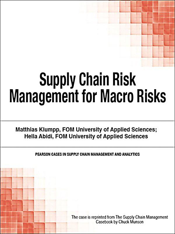 risks of macros In other articles i discussed the micro- and market environment risks which are, largely, known and already in place and so are, to some degree.