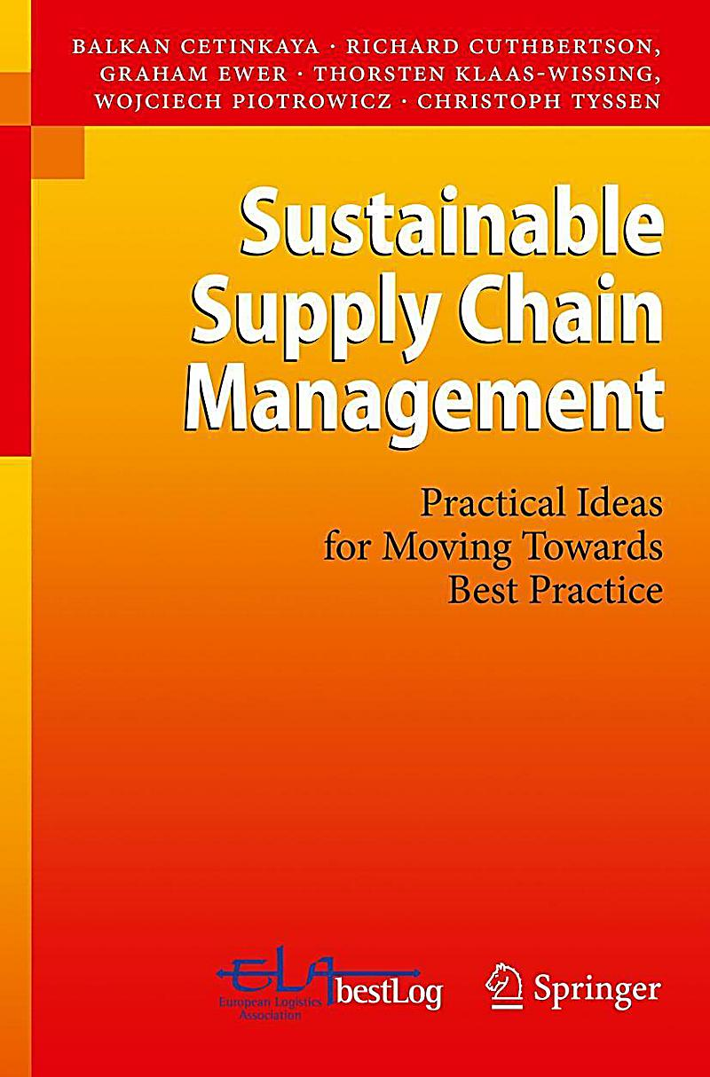 sustainable supply chain Supply chain management for any organization your products and manufacturing process are under more scrutiny than ever before many b2b operations are required to demonstrate their environmental performance as part of sustainable supply chain management.