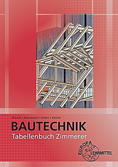 Tabellenbuch Zimmerer Buch von Ingo Nennewitz portofrei kaufen