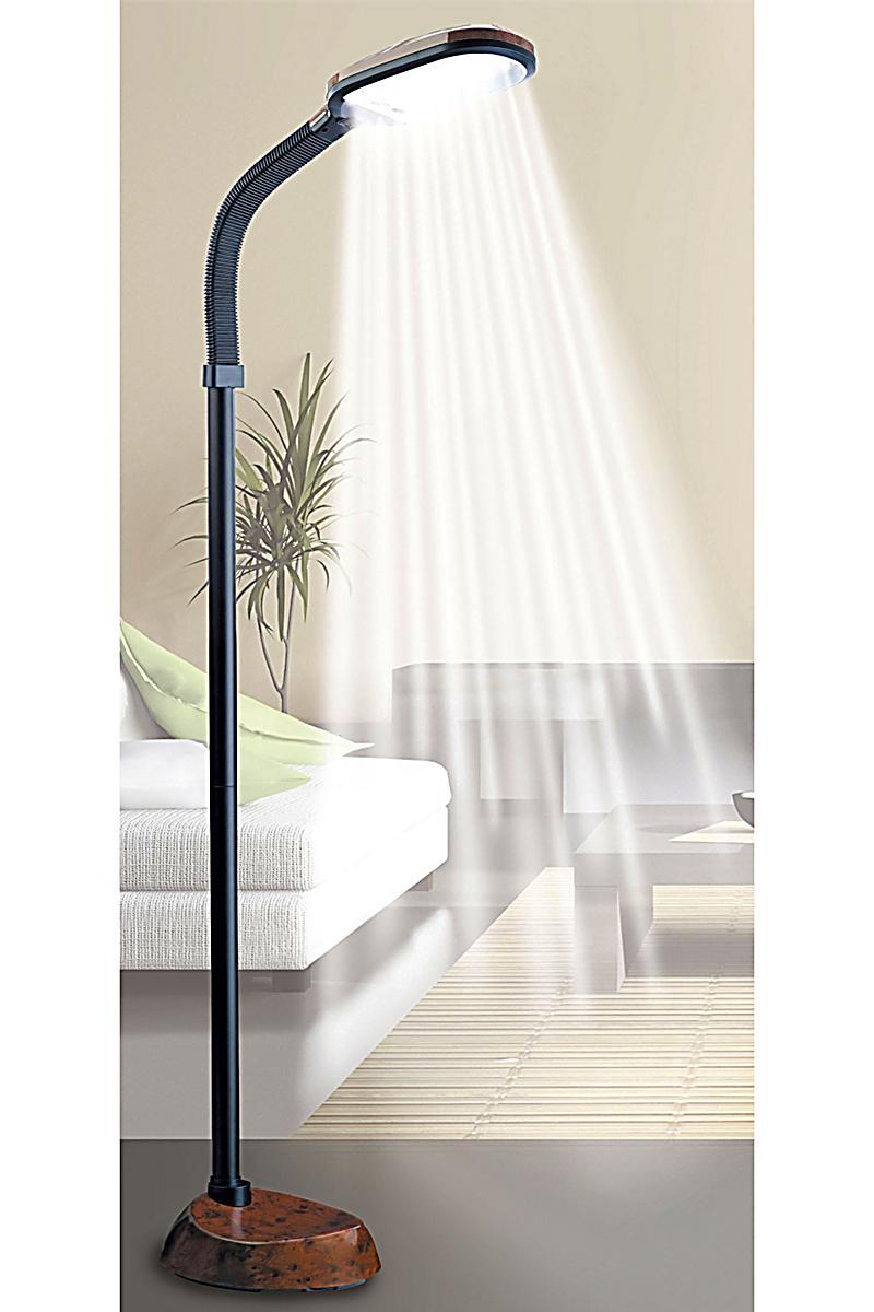 tageslicht standleuchte daylight farbe wurzelholz. Black Bedroom Furniture Sets. Home Design Ideas