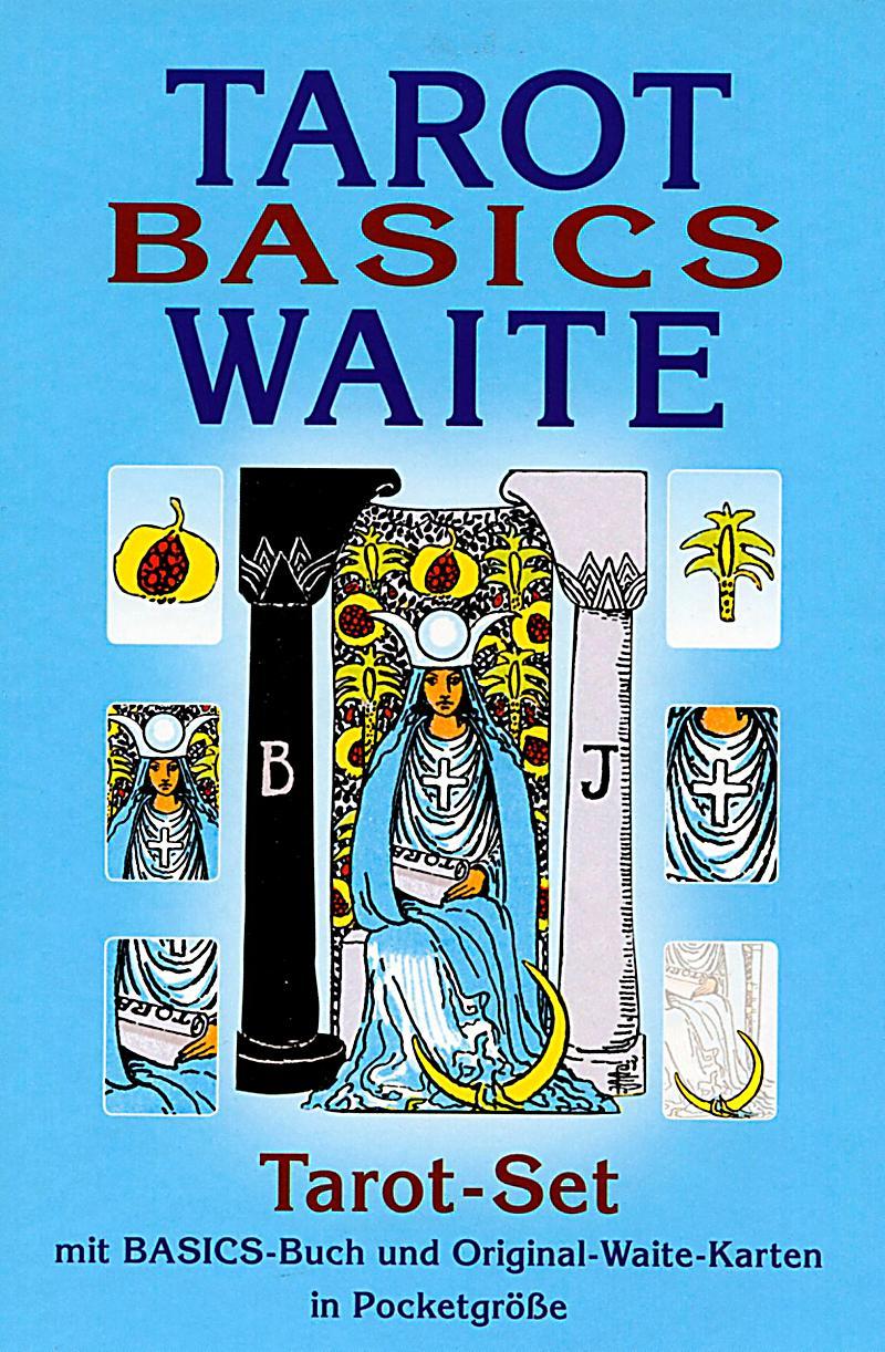 Tarot Basics Waite Tarot-Set, M. Rider Waite-Tarotkarten