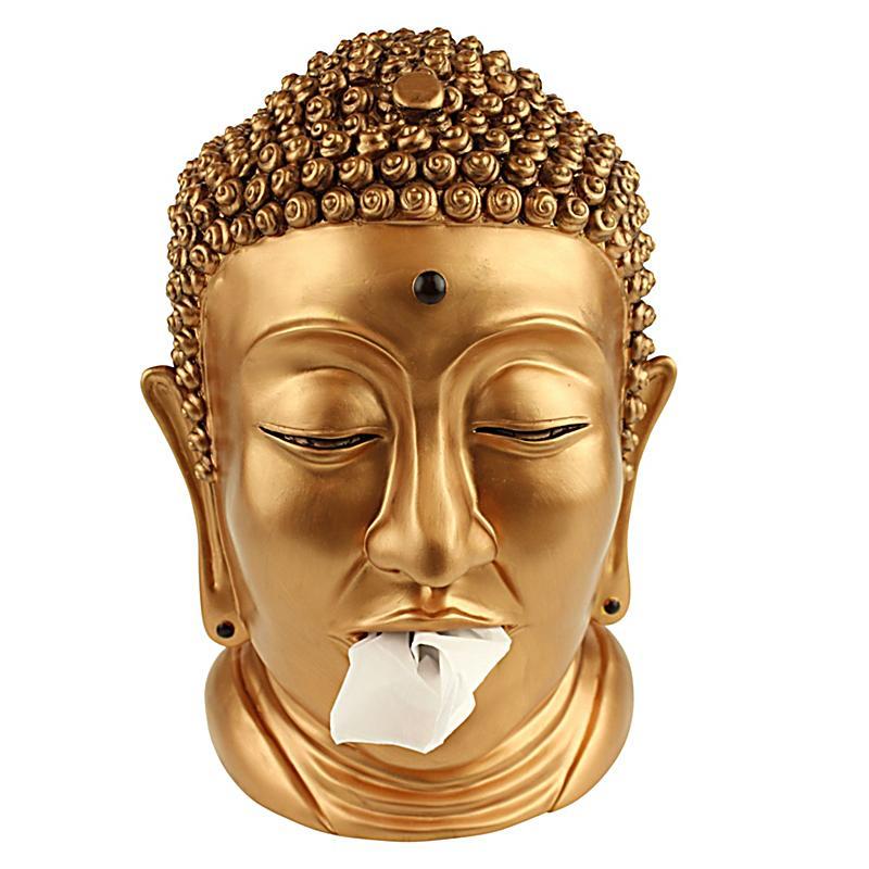 Taschentuchhalter buddha kupferfarben bestellen for Buddha bestellen