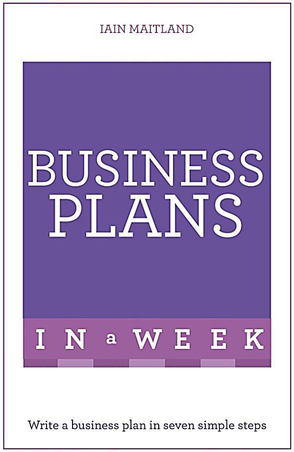 Should a business plan be written in future tense