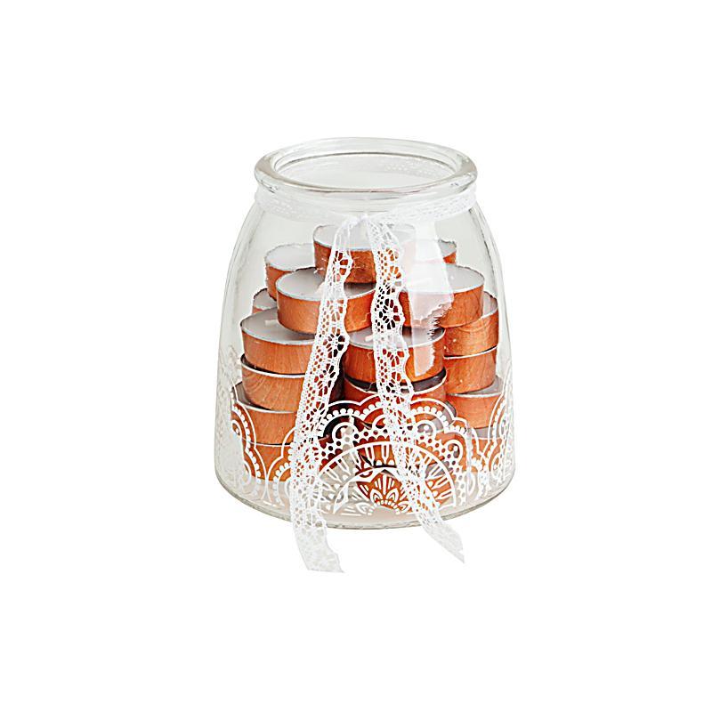 Teelichter Im Glas 26 Teiliges Set Bestellen