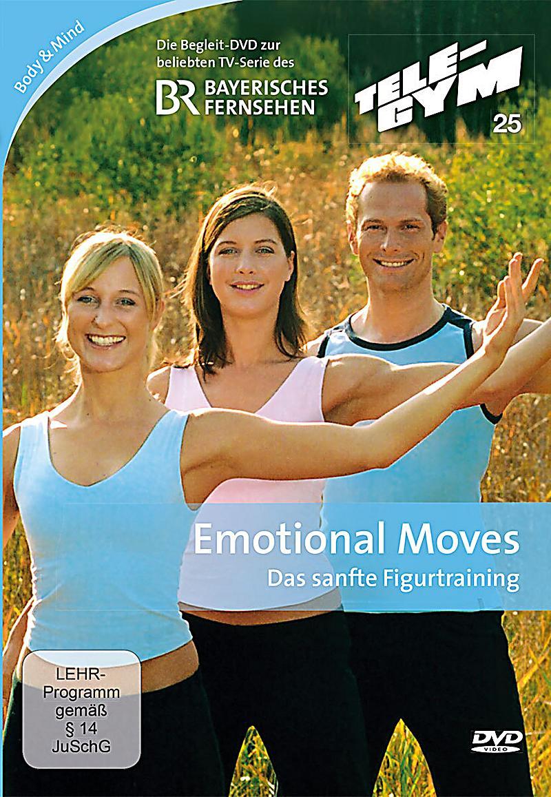 tele gym emotional moves sanfte bungen f r bauch r cken po u beine film. Black Bedroom Furniture Sets. Home Design Ideas