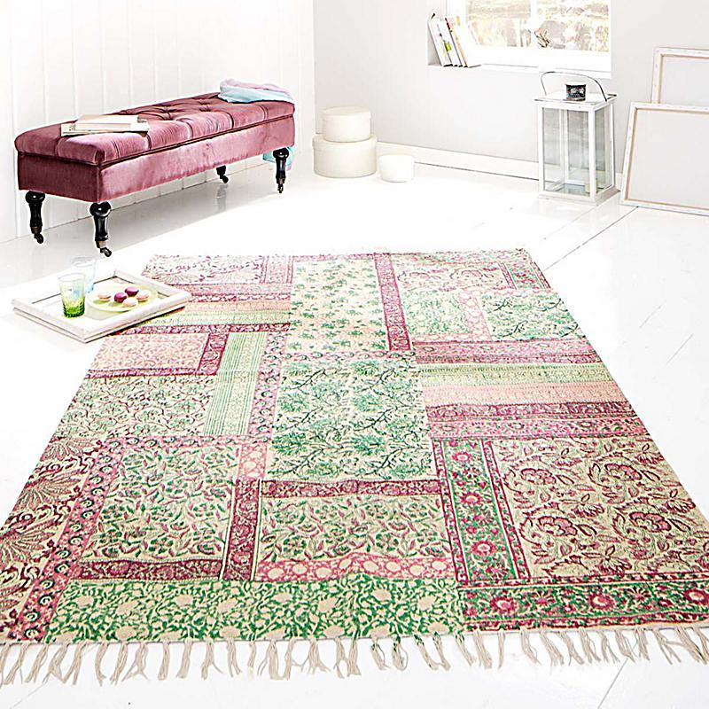 teppich patchwork 170x240 cm jetzt bei bestellen. Black Bedroom Furniture Sets. Home Design Ideas
