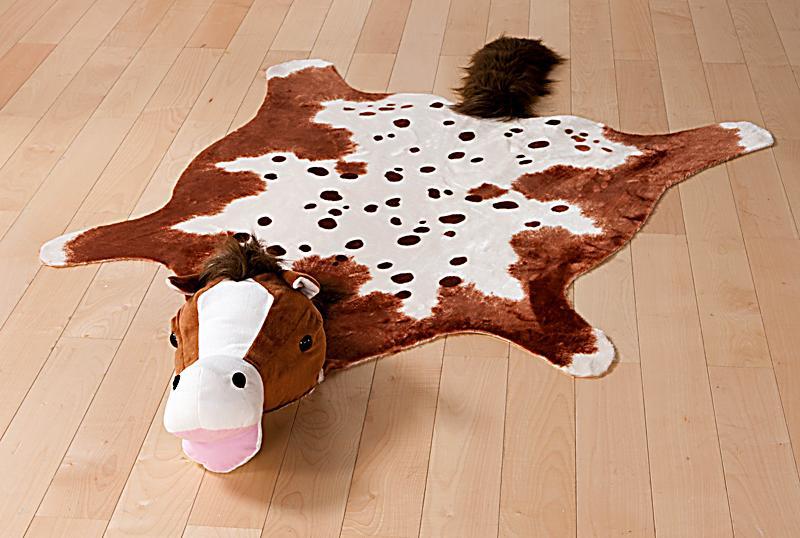 Teppich Pferd Goldie, braun jetzt bei Weltbildde bestellen