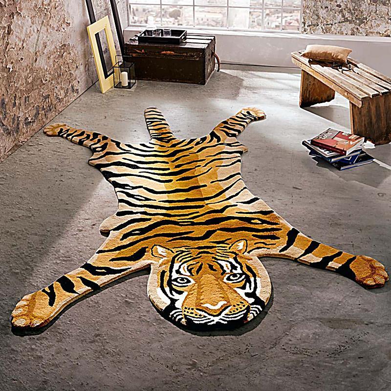 teppich tiger 170x240 jetzt bei bestellen. Black Bedroom Furniture Sets. Home Design Ideas