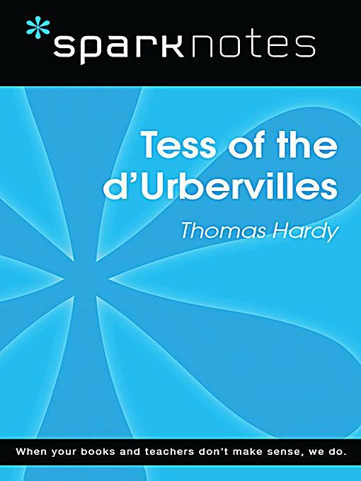 an analysis of tess of durbervilles Cliffs notes analysis of tess of the d'urbervilles (englisch) spark notes analysis of tess of the d'urbervilles (englisch) tess of the d'urbervilles als.