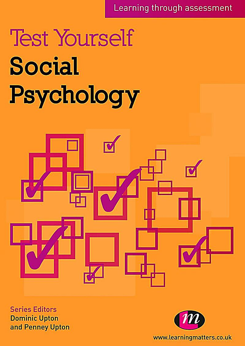 social psychology Social psychology is the study of how people's thoughts, feelings, and behaviors  are influenced by the actual, imagined, or implied presence of others in this.