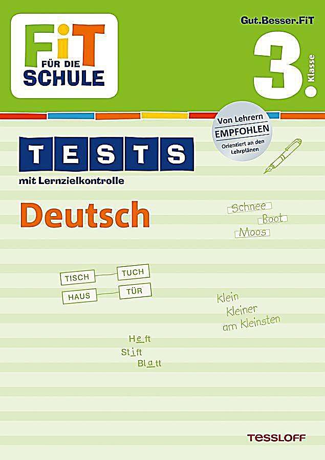tests mit lernzielkontrolle deutsch 3 klasse buch