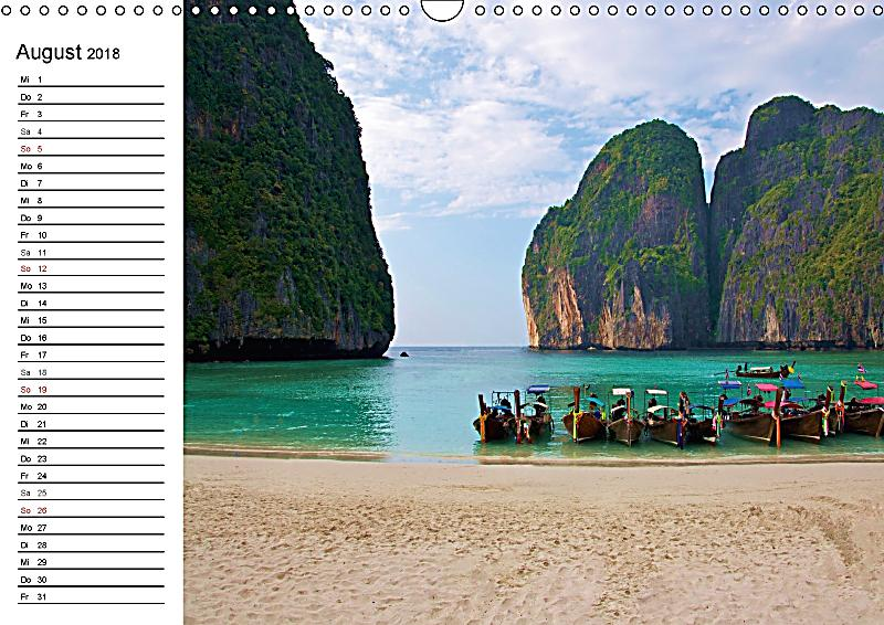 thailand sonne und strand wandkalender 2018 din a3 quer. Black Bedroom Furniture Sets. Home Design Ideas