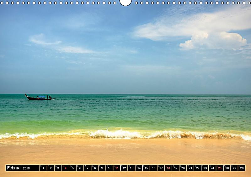 thailand sonne und strand wandkalender 2018 din a3 quer. Black Bedroom Furniture Sets. Home Design Ideas