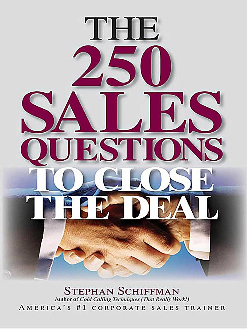 how to close every sale ebook