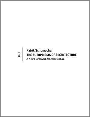 the autopoiesis of architecture buch portofrei bei. Black Bedroom Furniture Sets. Home Design Ideas