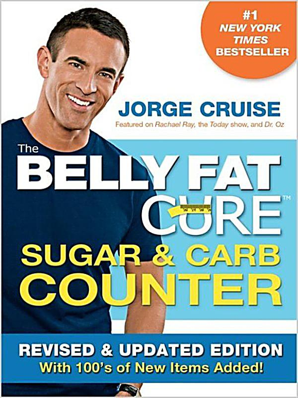 THE BELLY FAT CURE by Jorge Cruise (NEW 2009 SpiralBack Book 1st Ed.) Free S and H