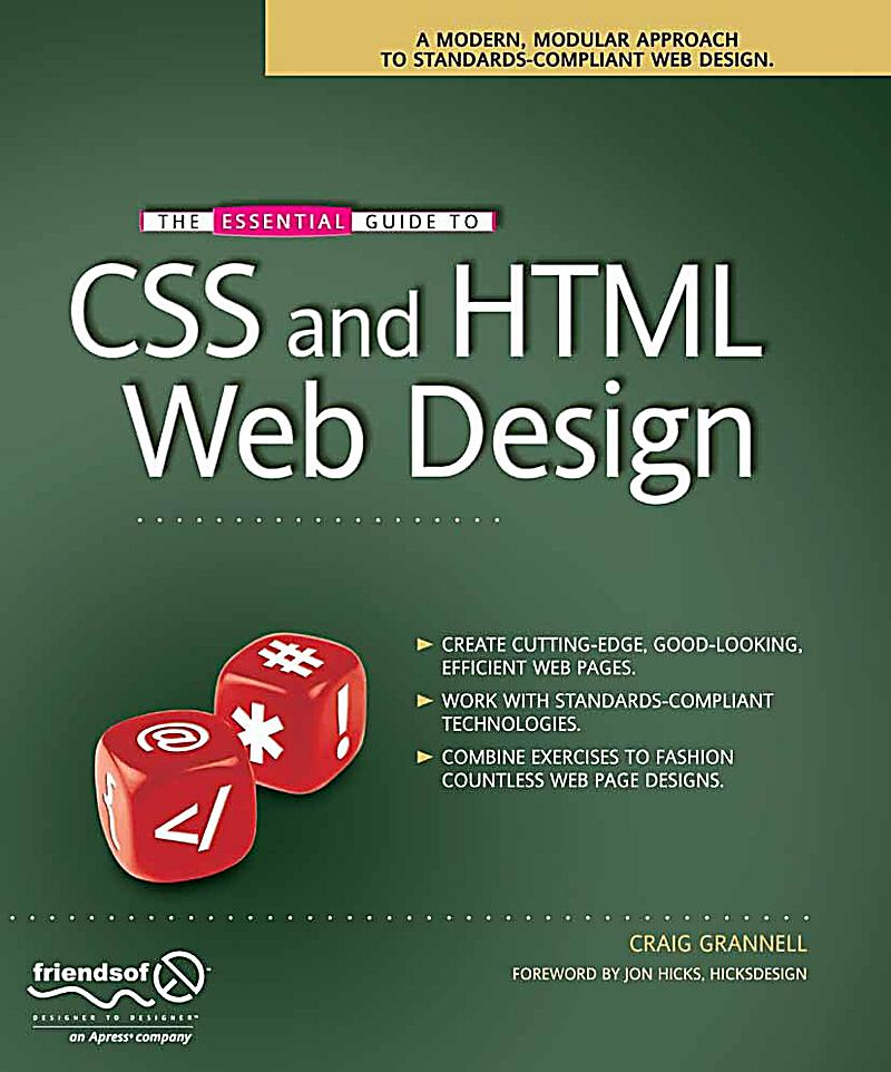 The Essential Guide To Css And Html Web Design Ebook