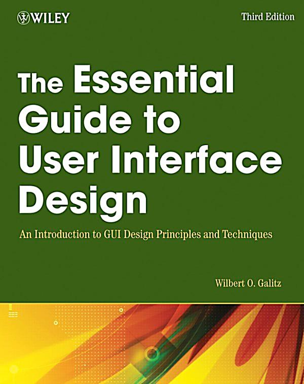 The Essential Guide To User Interface Design Ebook