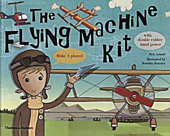 paper flying machine kit