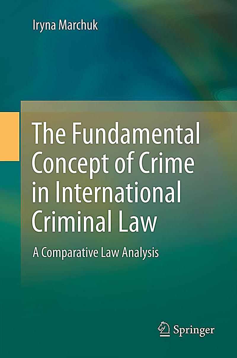 the concept of crime T he concept of personal responsibility is the basis of criminal law it is  founded on the idea that the individual who performs crimi- nal deeds is  responsible.