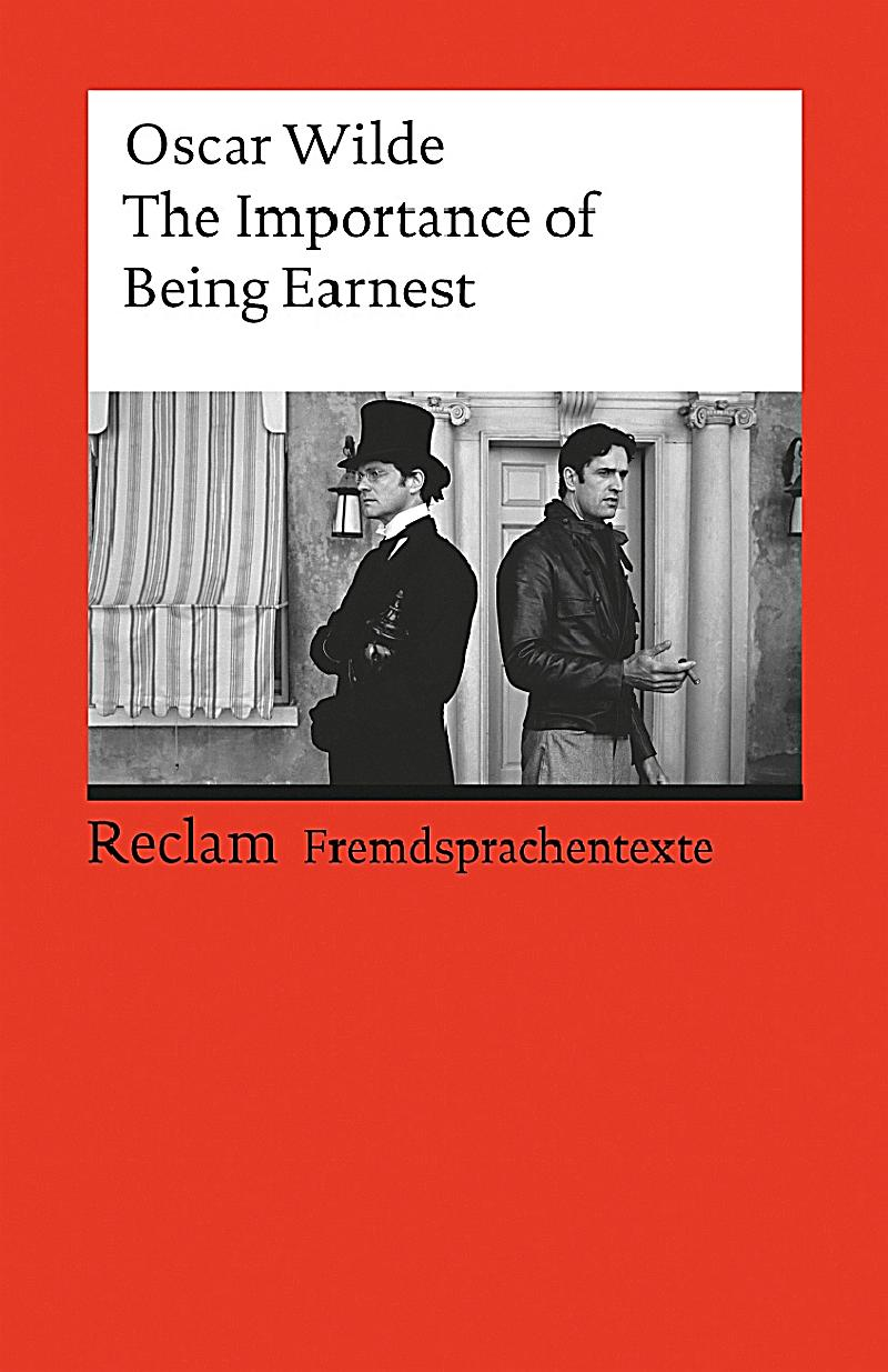 oscar wilde the importance of being earnest essays The importance of being earnest: essay q&a, free study guides and book  to  be ernest in town are never made explicit, but the audience of wilde's time.