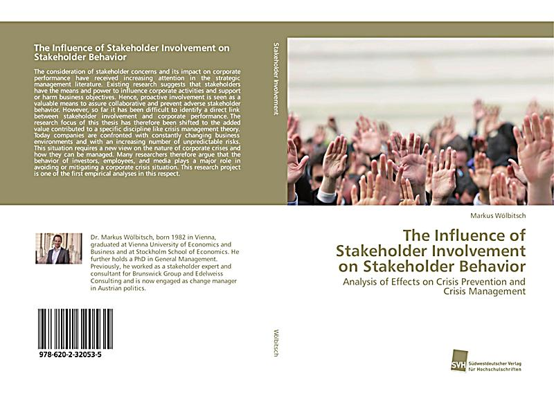 the influence of stakeholders on a Management of stakeholders is critical to the success of projects stakeholder influence is now felt more keenly in many areas of corporate and public life on a.