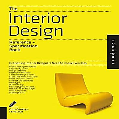 The Interior Design Reference Specification Book Buch