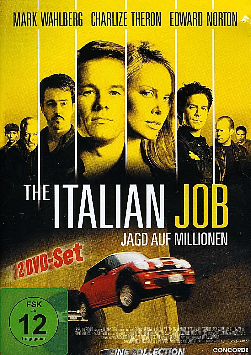 the italian job dvd jetzt bei online bestellen. Black Bedroom Furniture Sets. Home Design Ideas