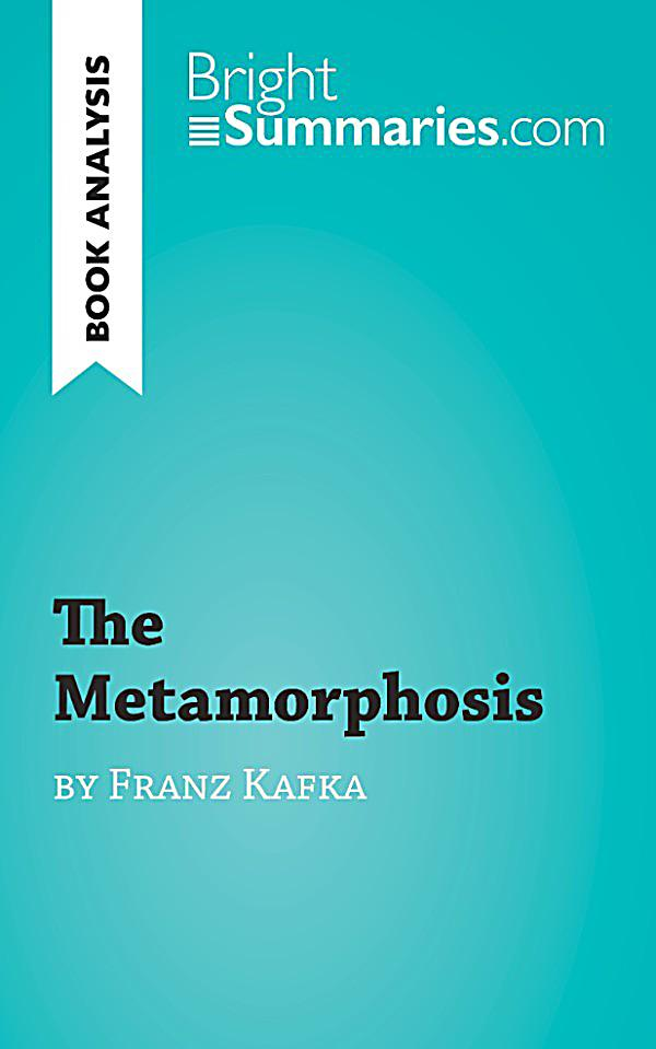 an analysis of the metamorphosis a short story by franz kafka Main characters analysis the metamorphosis by franz kafka is a novella ie longer than a short story but shorter than a novel, has been a revolutionary story about the practical yet perennial problem of our society.