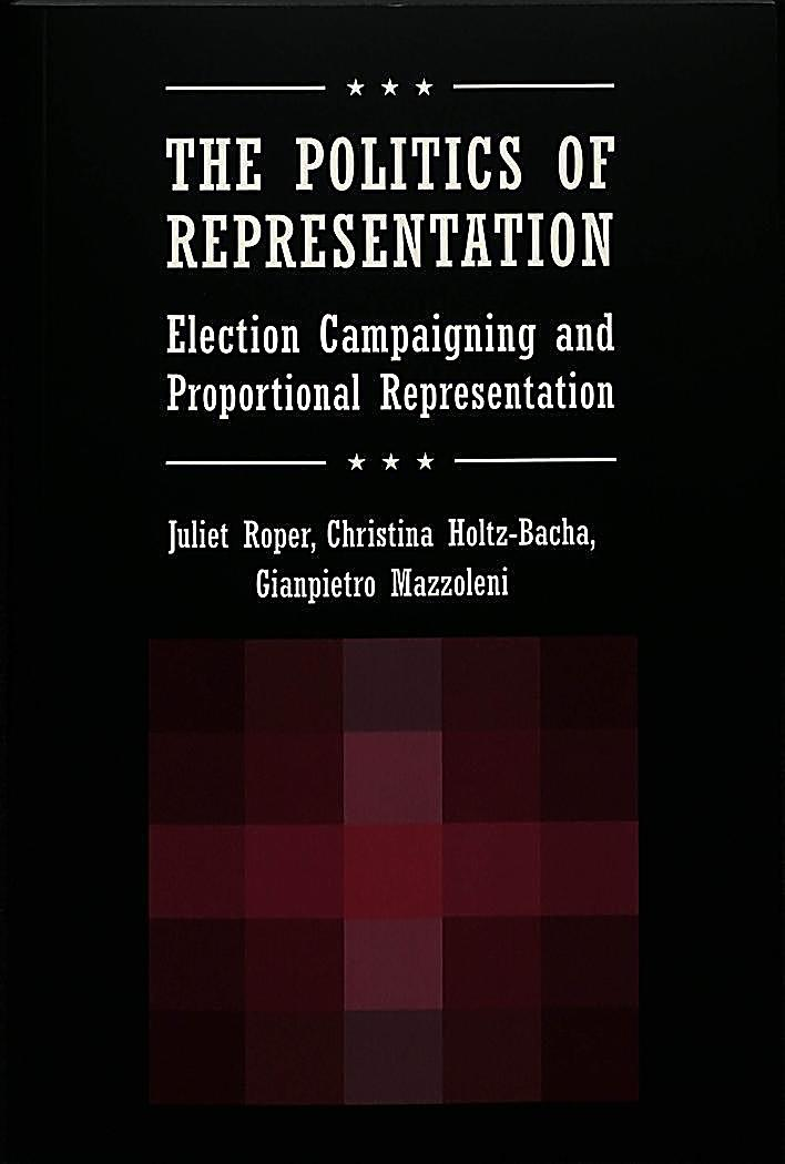 political representation Representation, in a political sense, describes how some individuals will stand in for others , or groups of others, for a certain time period.