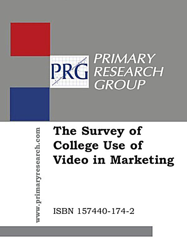 marketing research on the use of Journal of marketing research, table of contents, current issue volunteers  those that use drama, mood, music and other emotion-eliciting strategies).