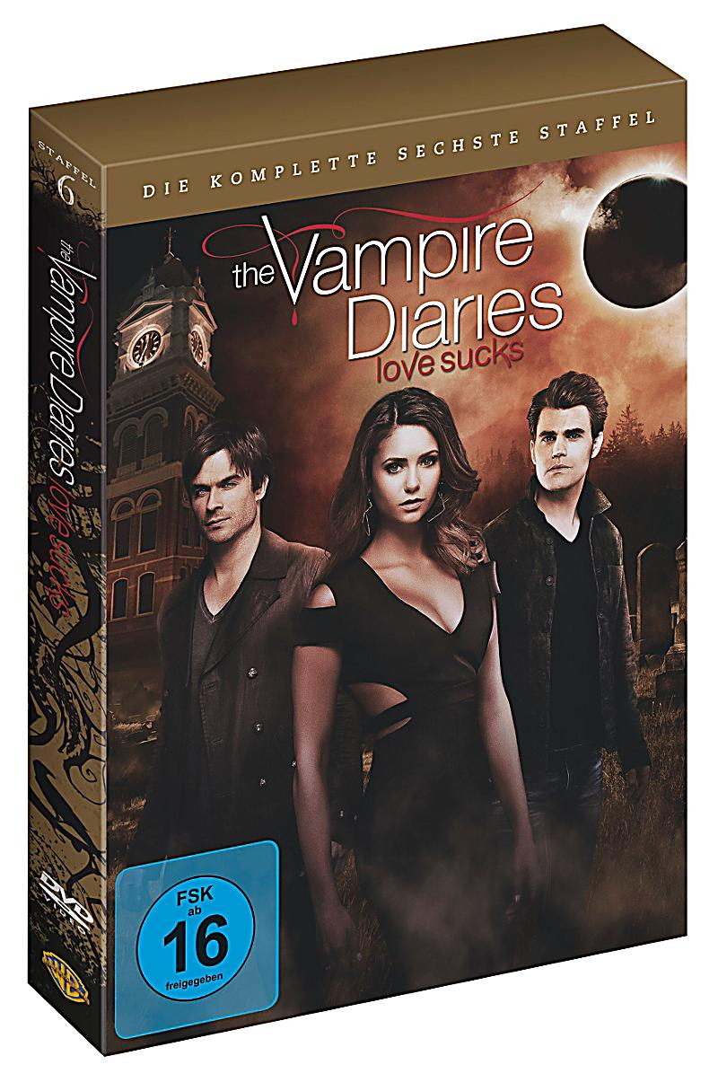 vampire diaries 6 staffel dvd