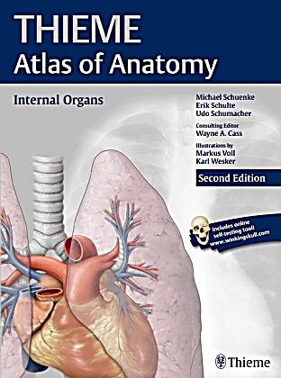Thieme Atlas of Anatomy: Internal Organs Buch - Weltbild.de