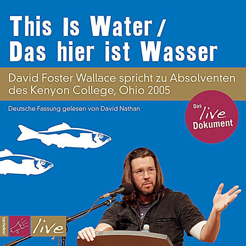 Wallace, D: This is Water / Das hier ist Wasser/CD
