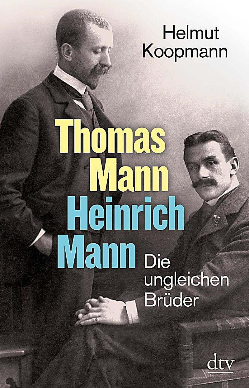 thomas mann heinrich mann buch bei online bestellen. Black Bedroom Furniture Sets. Home Design Ideas