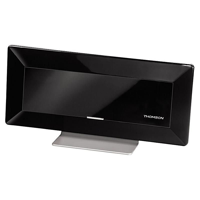 thomson ant1410 hd zimmerantenne f r tv radio dvb t t2 flach aktiv 44db. Black Bedroom Furniture Sets. Home Design Ideas
