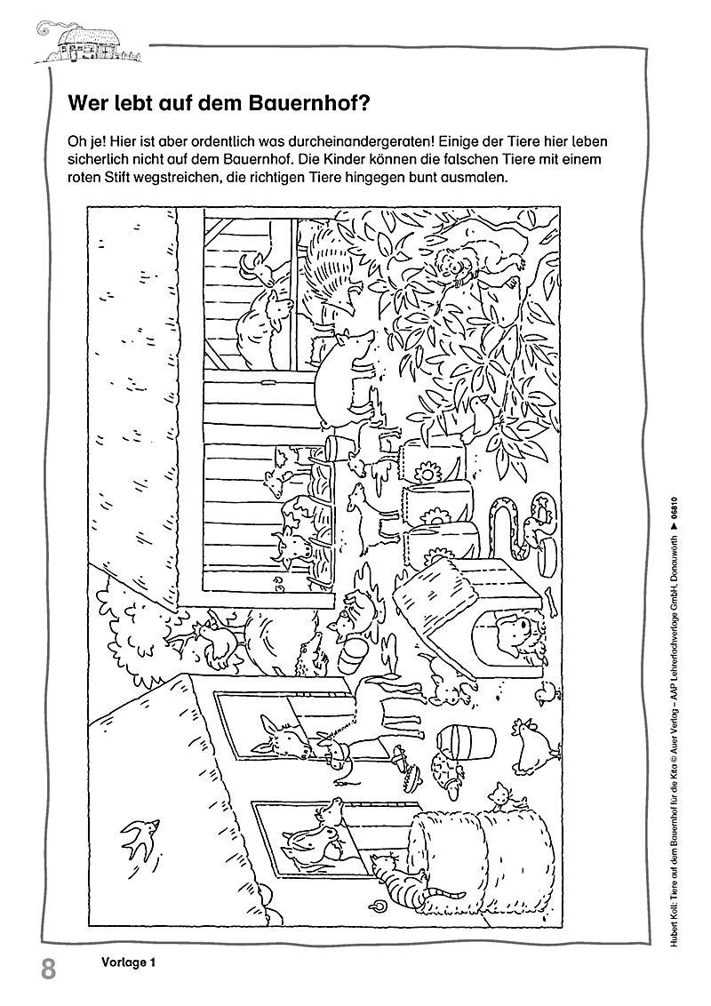 tiere auf dem bauernhof für die kita buch bestellen