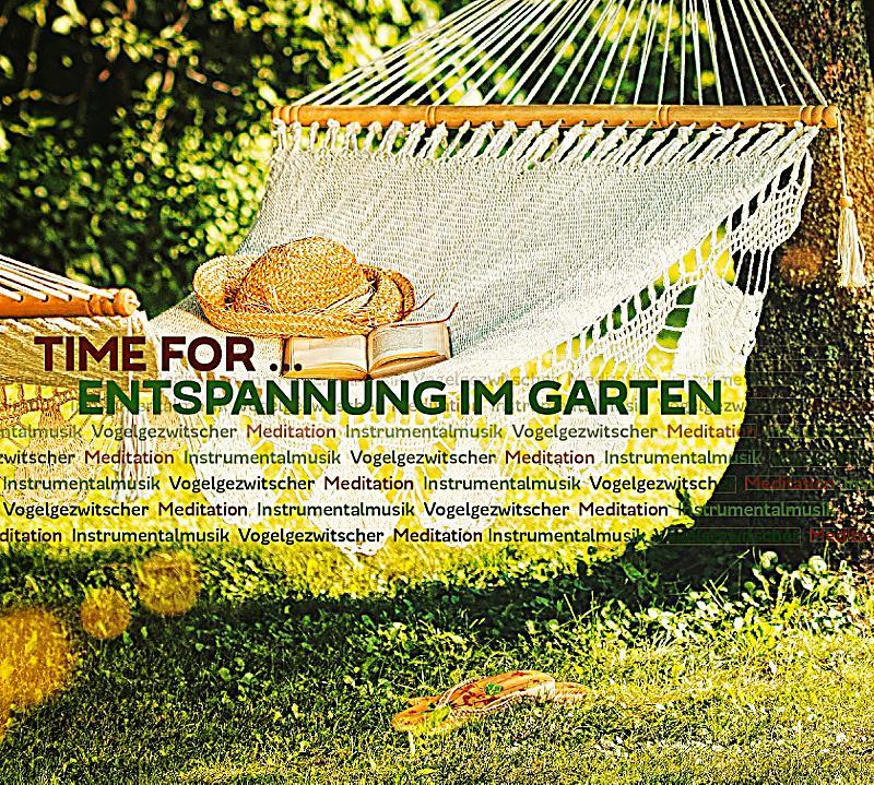 time for entspannung im garten cd g nstig bei. Black Bedroom Furniture Sets. Home Design Ideas