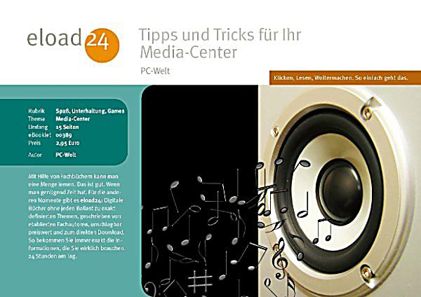 tipps und tricks f r ihr media center ebook. Black Bedroom Furniture Sets. Home Design Ideas