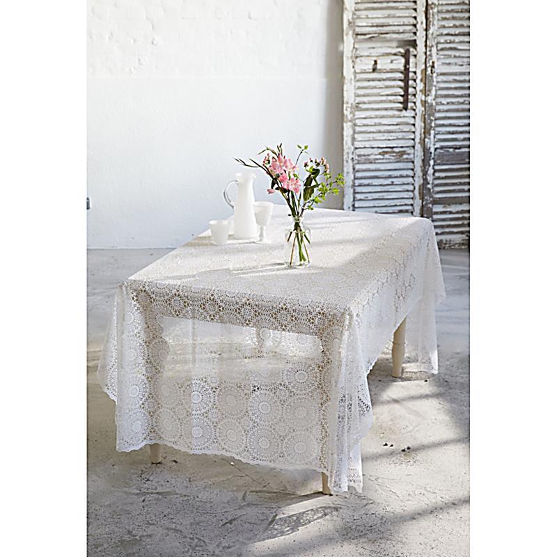 tischdecke spitze wei 150x264 jetzt bei bestellen. Black Bedroom Furniture Sets. Home Design Ideas