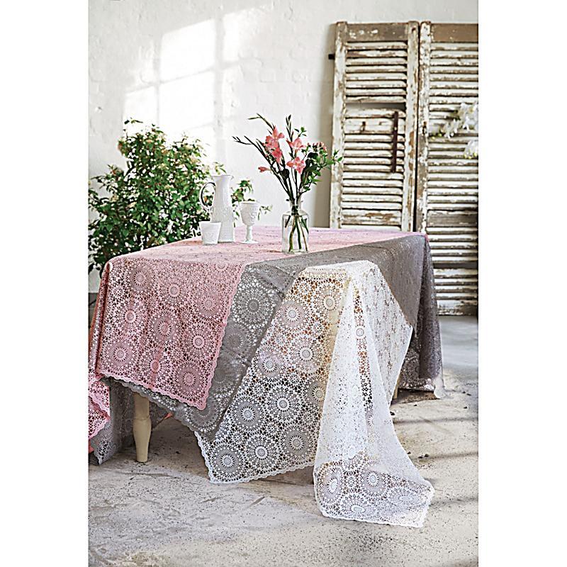 tischdecke spitze weiss 150x264 jetzt bei. Black Bedroom Furniture Sets. Home Design Ideas