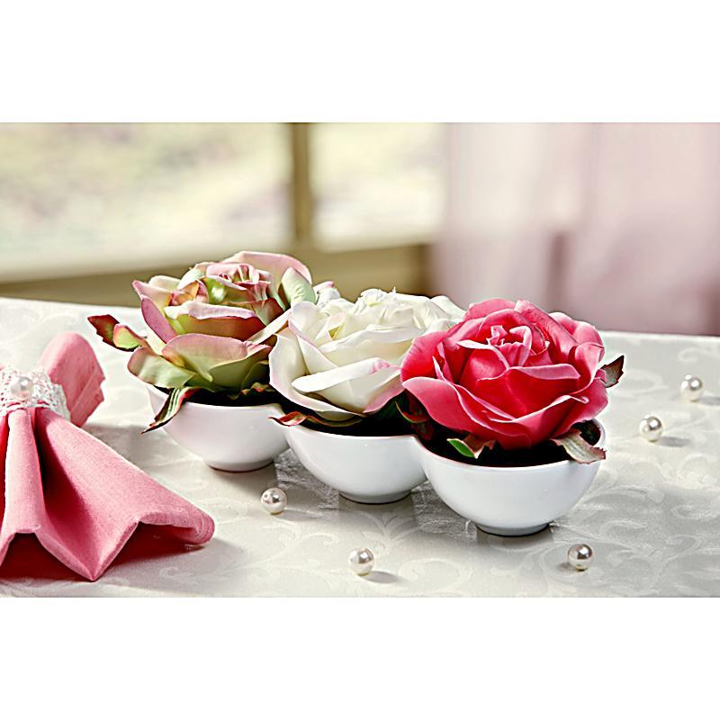 Tischdeko rosen jetzt bei bestellen for Tischdeko bestellen