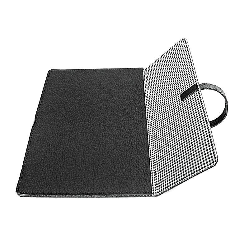 tolino shine echtledertasche farbe schwarz. Black Bedroom Furniture Sets. Home Design Ideas