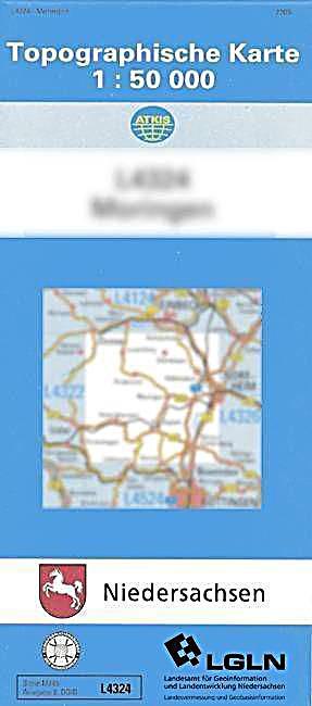 Niedersachsen Karte Pdf.Topographische Karten Niedersachsen Bl 2932 Dannenberg Elbe Pdf