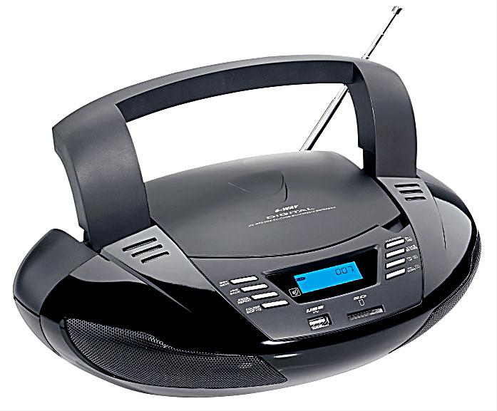 tragbarer cd player radio mit usb jetzt bei bestellen. Black Bedroom Furniture Sets. Home Design Ideas