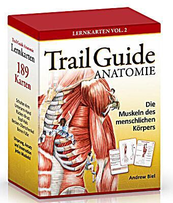Trail Guide Anatomie, 189 Lernkarten Buch portofrei - Weltbild.de