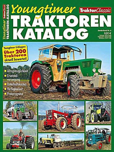 Traktor Classic Sonderbd 6 Youngtimer Katalog Buch