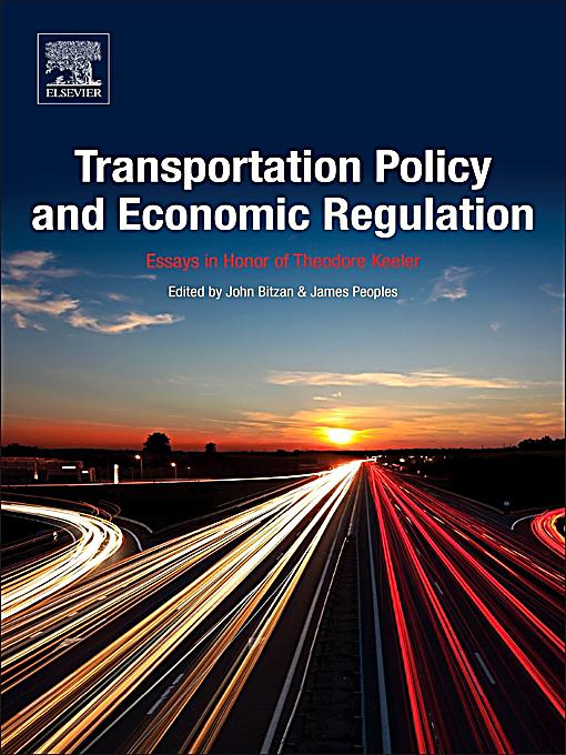 Essay in transportation economics and policy