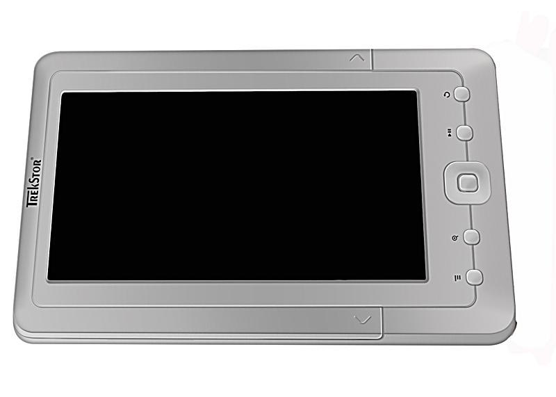 trekstor ebook player 7m 2gb speicher silber. Black Bedroom Furniture Sets. Home Design Ideas