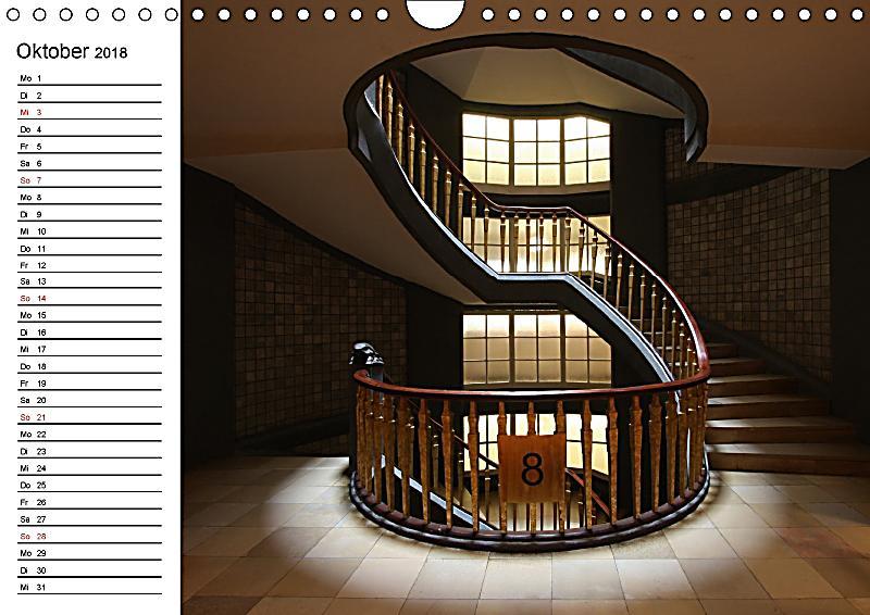 treppen und treppenh user wandkalender 2018 din a4 quer kalender bestellen. Black Bedroom Furniture Sets. Home Design Ideas
